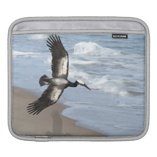 Ocean Gull art iPad sleeve