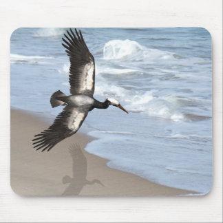 Ocean gull art mousepad