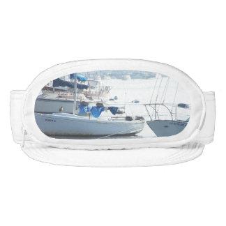 Ocean Harbor Pelicans Sailboats Boats Cap-Sac Hat