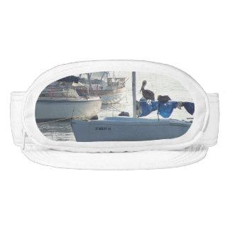 Ocean Harbor Sailboats Boats Pelican Cap-Sac Hat