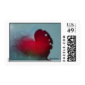 Ocean Heart Stamps