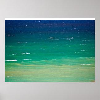 Ocean Hues Poster