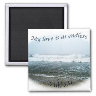 Ocean I Love You Magnet