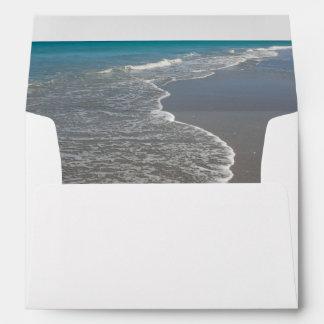 Ocean II Envelope for 5x7 Wedding Invitation