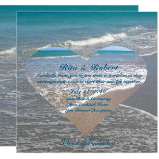 Ocean II | Wedding Invitation Semi-Gloss