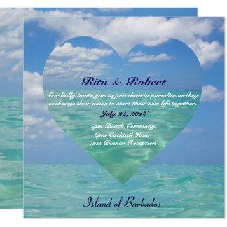 Ocean III | Wedding Invitation Semi-Gloss