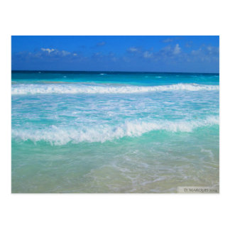 OCEAN IN CANCUN, MEXICO #1 POSTCARD