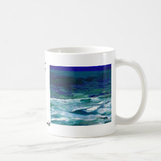 Ocean in the Moonlight  CricketDiane Ocean Art Coffee Mug
