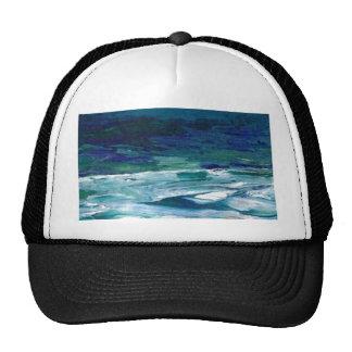 Ocean in the Moonlight  CricketDiane Ocean Art Trucker Hat