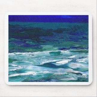 Ocean in the Moonlight  CricketDiane Ocean Art Mousepad