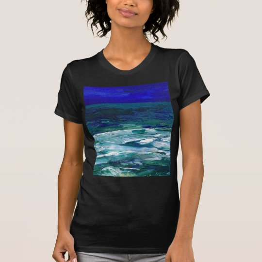 Ocean in the Moonlight  CricketDiane Ocean Art T-Shirt