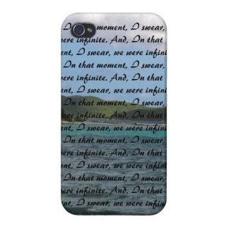 ocean-Infinite quote: Perks of Being a Wallflower iPhone 4/4S Case