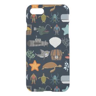 Ocean Inhabitants Pattern 1 iPhone 7 Case