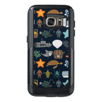Ocean Inhabitants Pattern 1 OtterBox Samsung Galaxy S7 Case