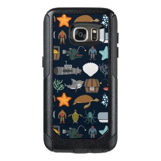 Ocean Inhabitants Pattern 1 OtterBox Samsung Galaxy S7 Case