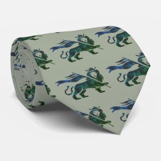 Ocean inspired Lion of Judah Neck Tie
