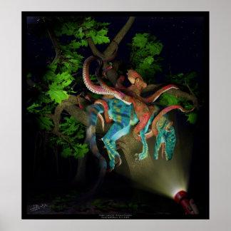 Ocean Invasion 1 Octopus arborealus Poster