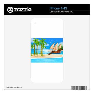 Ocean iPhone 4S Skins