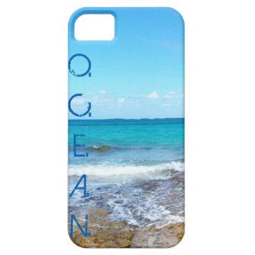 Beach Themed Ocean iPhone SE/5/5s Case