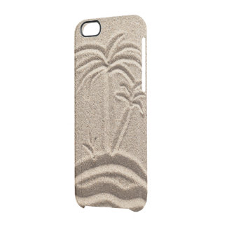 Ocean Island Beach Sand Wedding Clear iPhone 6/6S Case