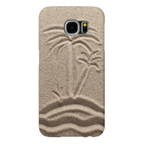 Ocean Island Beach Sand Wedding Samsung Galaxy S6 Case