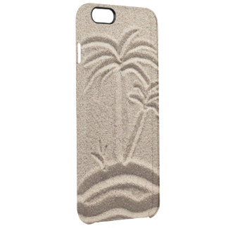 Ocean Island Beach wedding  Sand Clear iPhone 6 Plus Case