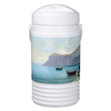 Beach Themed Ocean Island Capri Italy Fishing Boat Igloo Cooler
