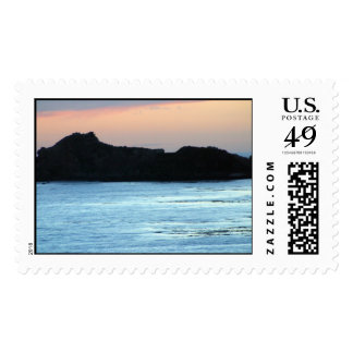 Ocean Island Rock Stamp
