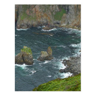 Ocean Islands Waves Surf Postcard