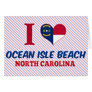 Ocean Isle Beach, North Carolina Card