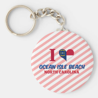 Ocean Isle Beach, North Carolina Keychain
