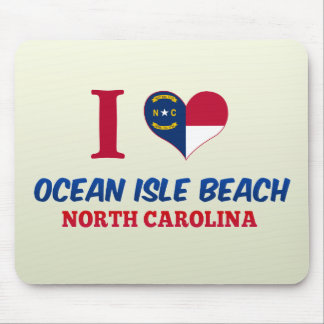 Ocean Isle Beach, North Carolina Mousepads