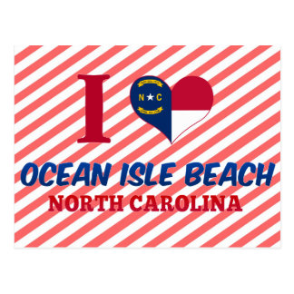 Ocean Isle Beach, North Carolina Postcard