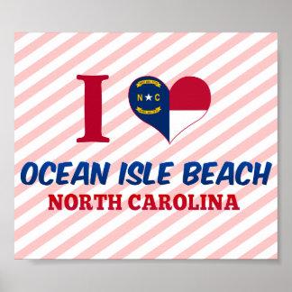 Ocean Isle Beach, North Carolina Posters