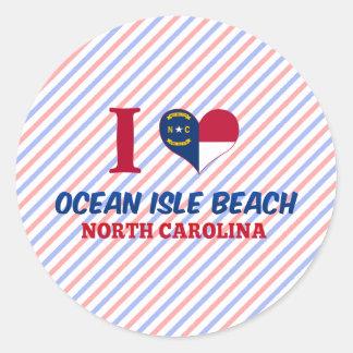 Ocean Isle Beach, North Carolina Sticker