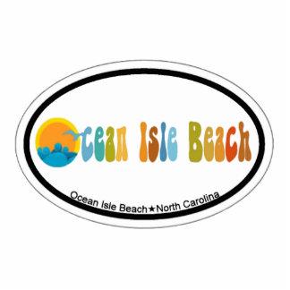 Ocean Isle Beach. Photo Cutout