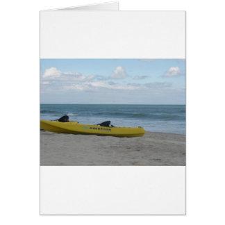 Ocean Kayak at Nags Head Card