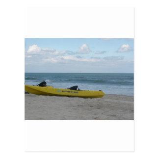 Ocean Kayak at Nags Head Postcard