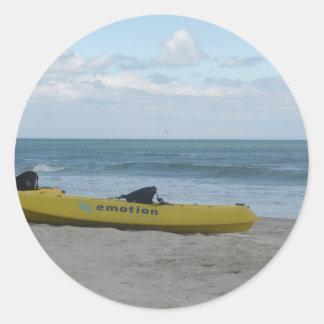 Ocean Kayak at Nags Head Classic Round Sticker