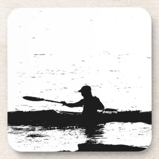 Ocean Kayak Sea Rowing Beach Water Sports Beverage Coaster
