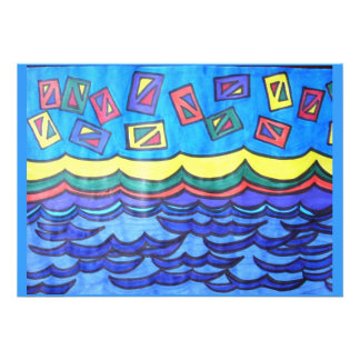Ocean Kites Custom Invites