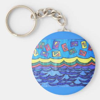Ocean Kites Keychain