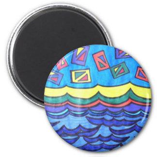 Ocean Kites Magnet