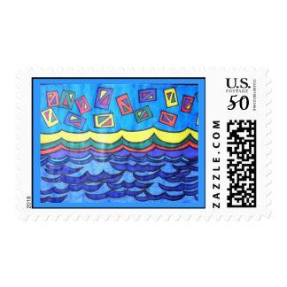 Ocean Kites Postage