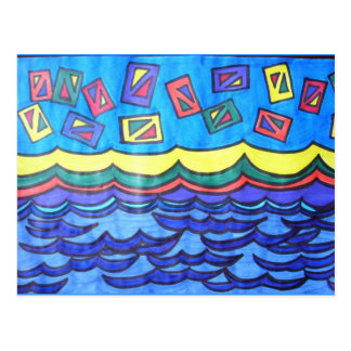 Ocean Kites Postcard