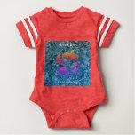 ocean life aotearoa baby bodysuit