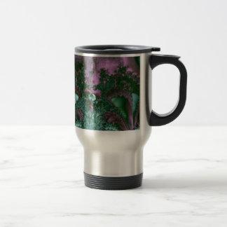Ocean life fractal coffee mug
