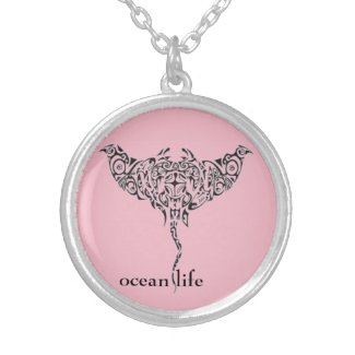 OCEAN LIFE LOCKET NECKLACE