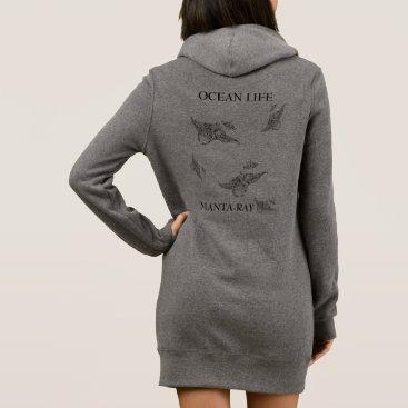 Beach Themed OCEAN LIFE manta-ray spirit Dress