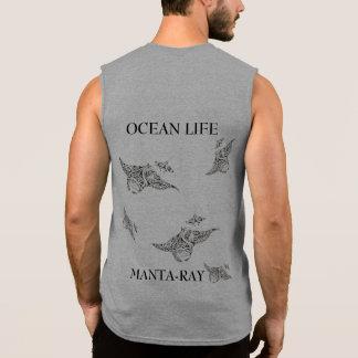 OCEAN LIFE manta-ray spirit Sleeveless Shirt